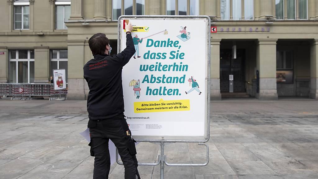 1130 Neuinfektionen in der Schweiz