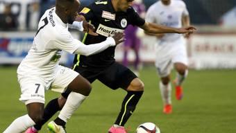 Doppeltorschütze Gjelbrim Taipi (rechts) schoss den FC Wil in der 33. Minute in Führung