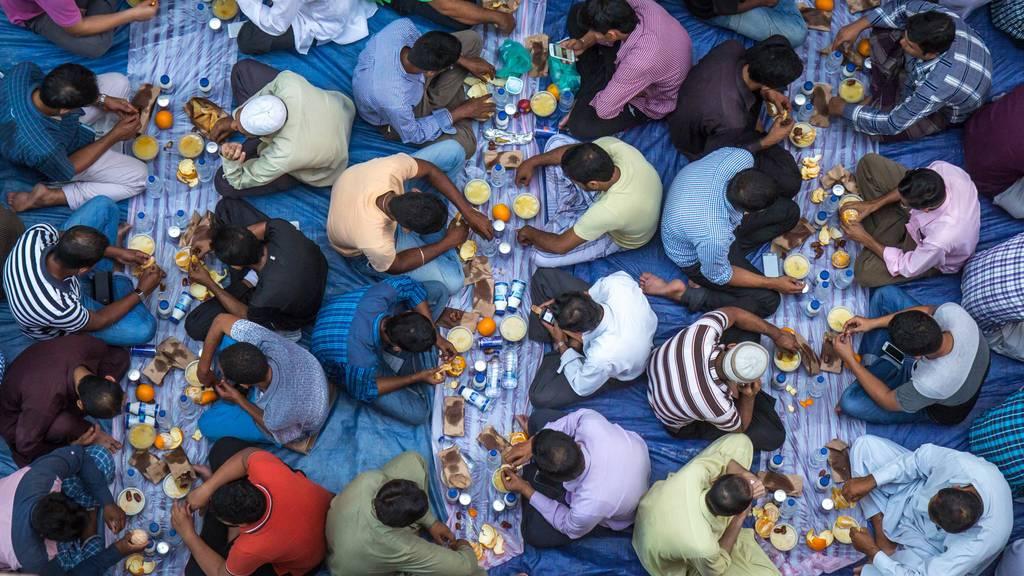 Der Ramadan hat heute begonnen.