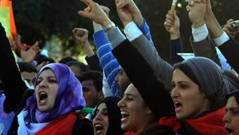 Frauen in Palästina fordern Frieden