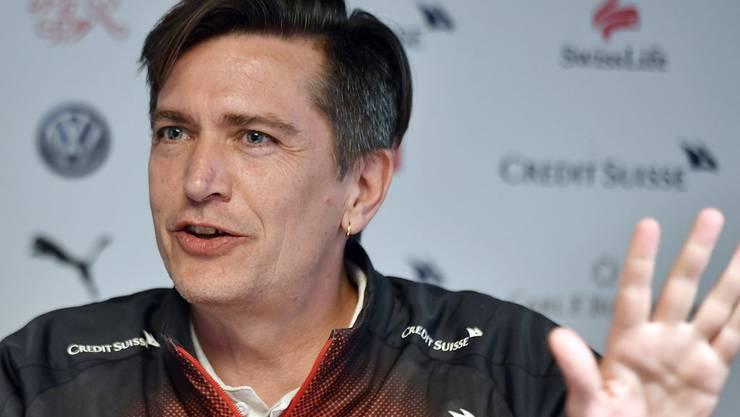 Schwärmt nach dem Sieg von Ramona Bachmann: Nationaltrainer Nils Nielsen.