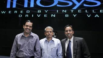 Die Chefetage des IT-Unternehmens Infosys.