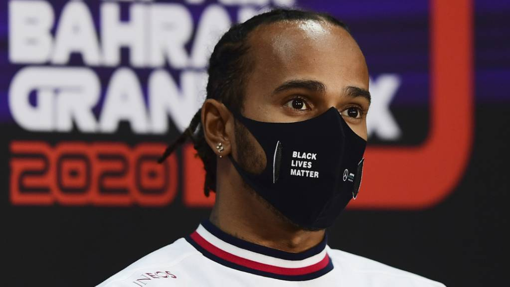 Lewis Hamilton steht in Bahrain zum dritten Mal auf dem besten Startplatz