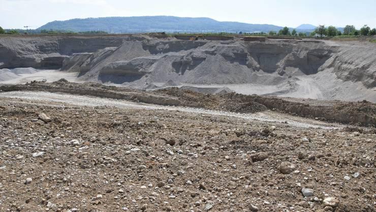 Die Holcim möchte das Abbaugebiet erweitern.