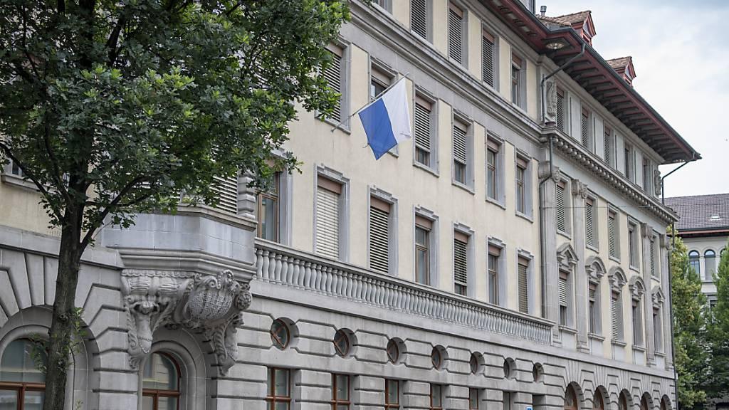 Das Stadthaus in Luzern: Ein Label soll zeigen, dass dort Homosexuelle, Bisexuelle, Trandsgender und Intersexuelle als Angestellte willkommen sind. (Archivaufnahme)