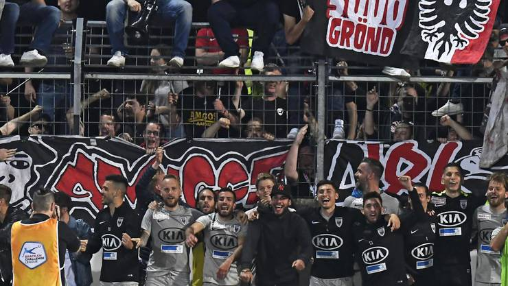 Der FC Aarau gewinnt gegen Chiasso mit 1:0.