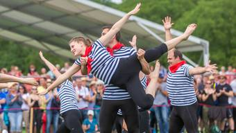 Die Bilder des fünften Wettkampftags am ETF Turnfest in Aarau