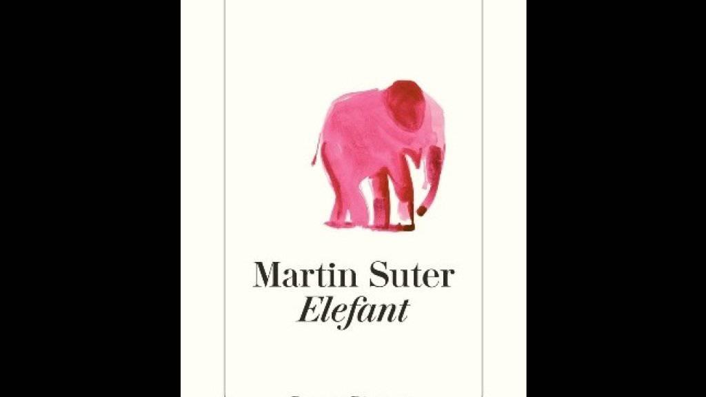 """Martin Suters neuester Bestseller """"Elefant"""" ist eines von zwölf Büchern, die auf der diesjährigen Berlinale als Filmstoff angeboten werden. Insgesamt waren 130 Bücher eingereicht worden. (Diogenes)"""