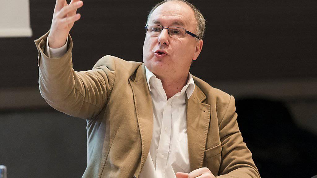 Waadtländer Gesundheitsdirektor Pierre-Yves Maillard: Er könnte sich kantonale Krankenkassen gut vorstellen. (Archivbild)