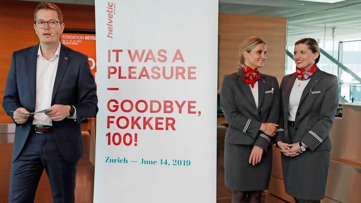 CEO Tobias Pogorevc nahm «Abschied von einer guten Freundin».