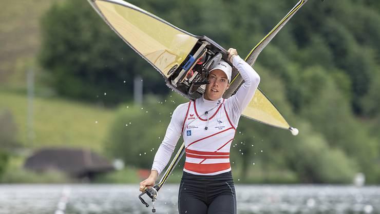 Jeannine Gmelin muss ihre Olympia-Pläne um ein Jahr verschieben