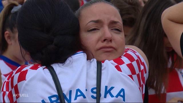 Trotz Niederlage, der Stolz der Kroaten überwiegt