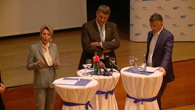 Die FDP-Bundesratskandidaten im ersten Check