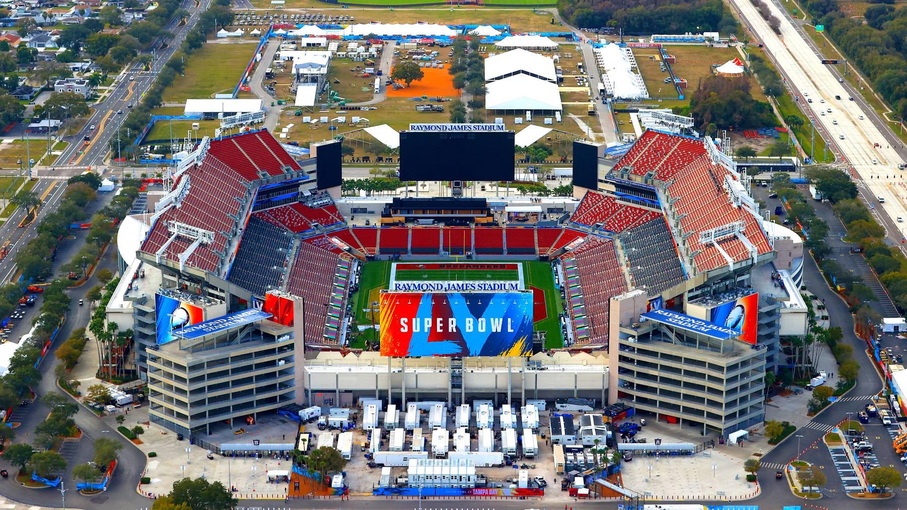 Super Bowl Tampa James Stadion
