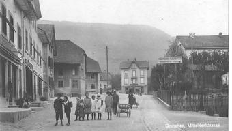 Die ehemalige «Mitteldorfstrasse» in Grenchen