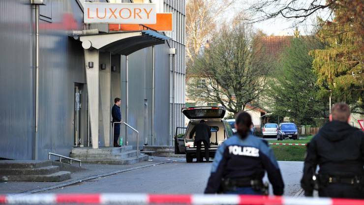 Maienstrasse Grenchen: Am 3. April wurde im Partylokal ein 22-Jähriger Türsteher erstochen.HERBERT LEHMANN/NEWSPICTURES