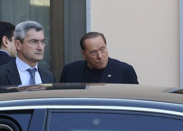 Berlusconi tritt zum Sozialdienst an