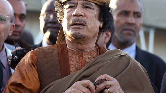 Angeblich zum Rückzug bereit: Muammar al-Gaddafi (Archiv)