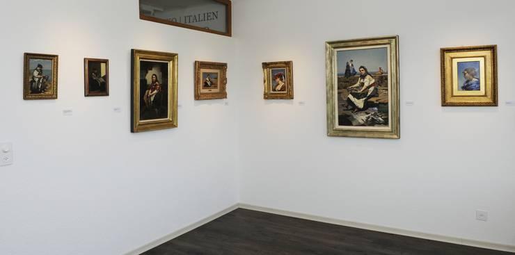 Er beschloss eine Sammlung mit Werken von Frank Buchser zu erwerben.