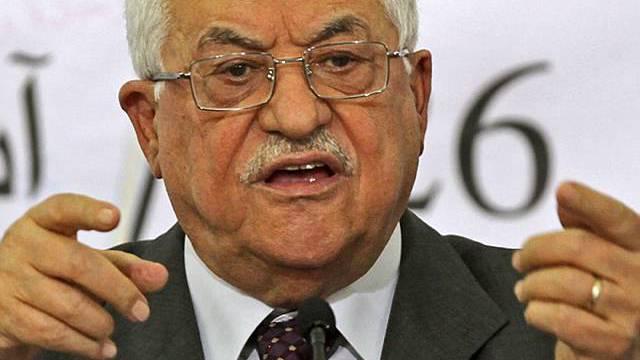 Abbas beharrt auf Standpunkt (Archiv)
