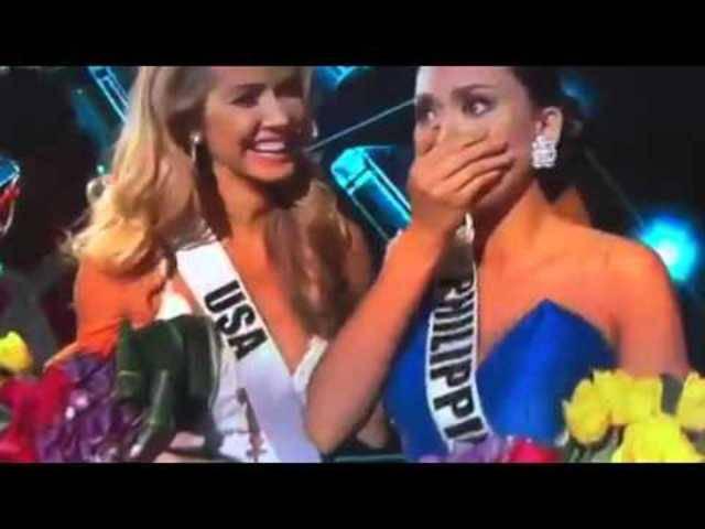 Peinliche Verwechslung an Miss-Universe-Wahl
