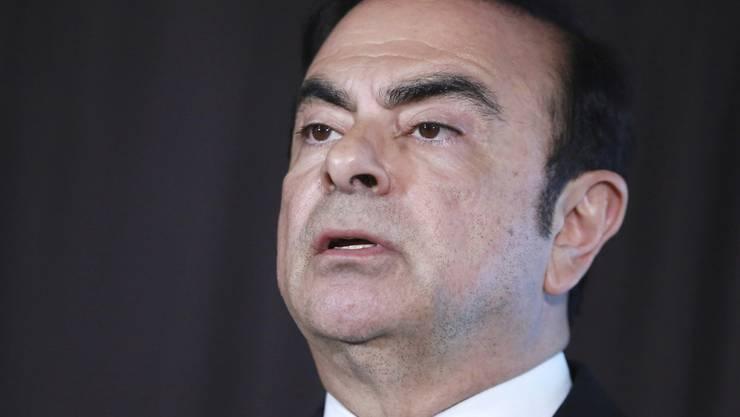 Die japanische Staatsanwaltschaft hat Medienberichten zufolge eine neue Anklage gegen den früheren Nissan- und Renault-Chef Carlos Ghosn erhoben.(Archivbild)