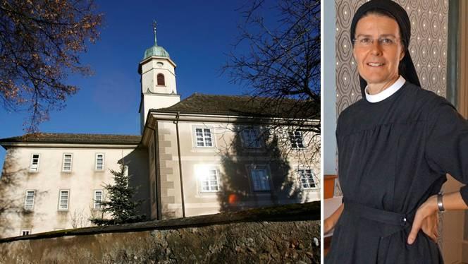 Priorin Irene Gassmann vom Kloster Fahr.