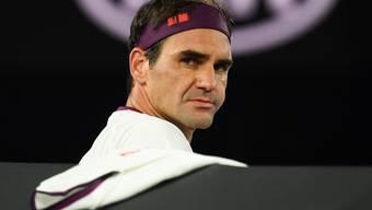 Bangen um Roger Federer vor den Australian-Open-Halbfinals.