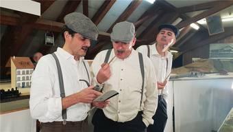 14 Aufführungen des Theaterstücks «Heimat 52» sind im August und September geplant. Auch am Stadtfest Brugg. zvg