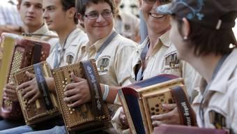 Das Volksmusikfest ist auch für die Jungen: Von Donnerstag bis Sonntag geht in Aarau die Post ab.