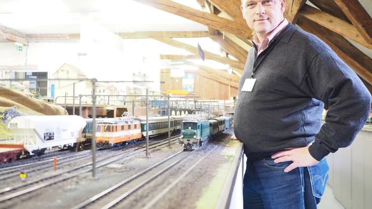 BMC-Präsident Ulrich Rothe ist stolz auf seine Anlage