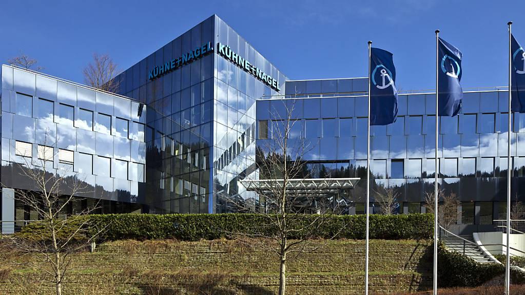 Der Logistiker Kühne+Nagel holt für seine chinesische Tochter das Finanzunternehmen Partners Group an Bord. (Achivbild)