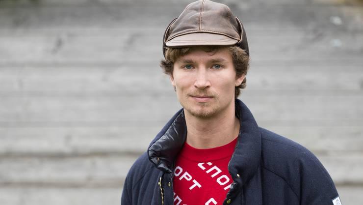Lieber am Berg als in der Vorlesung: Iouri Podladtchikov, Brett- und Fotokünstler und Student der Kunstgeschichte.