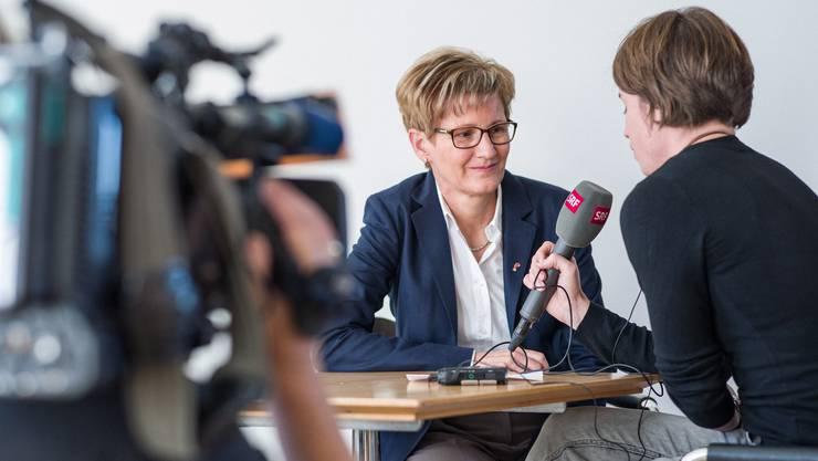 Die Baselbieter Baudirektorin Sabine Pegoraro wird kritisiert.