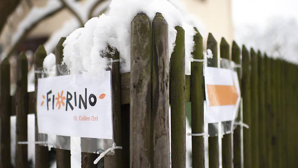 """""""Tief erschüttert und sehr betroffen"""": Die Fiorino-Kindertagesstätte St. Gallen Ost will sich am Nachmittag zum Missbrauchsverdacht äussern."""