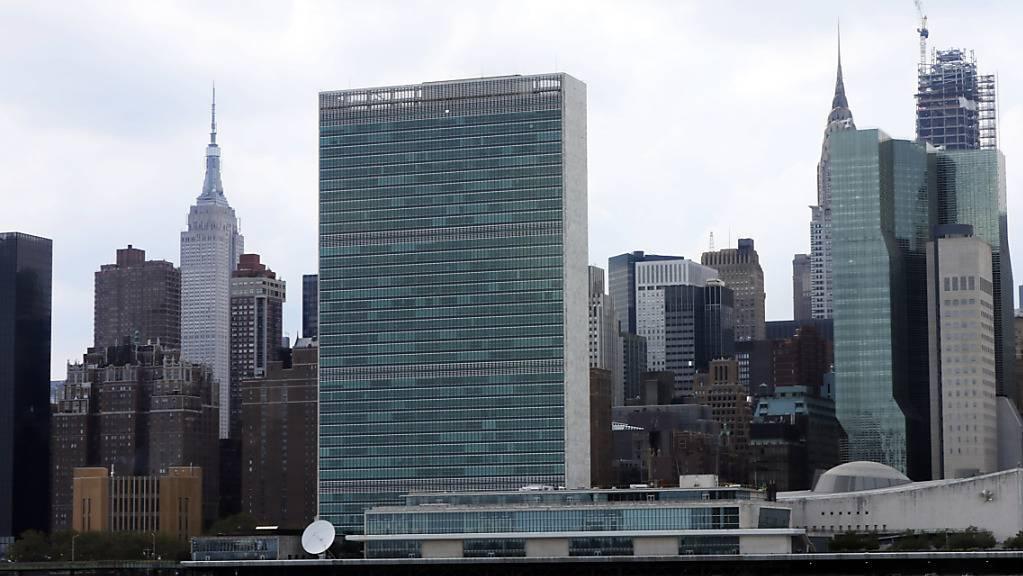 Der Uno-Hauptsitz in der US-Metropole New York.
