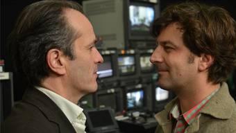 Stephan Guntli (links), Bruder von az-Redaktor François Schmid-Bechtel, gründete 1987 die Produktionsgesellschaft «Machwerk» in Berlin.