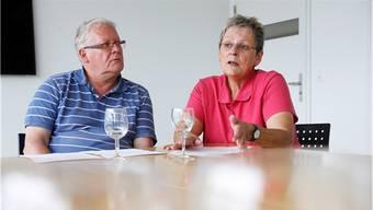 Jörg Schneeberger und Doris Gut: Sie sind eine von drei Gastfamilien für Menschen mit einer psychischen Beeinträchtigung.