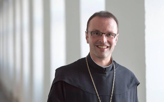 Urban Federer, Abt des Klosters Einsiedeln.