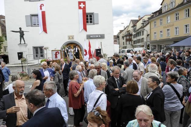 Offenes Haus: Bis heute kann jeder und jede das Regierungsgebäude betreten.
