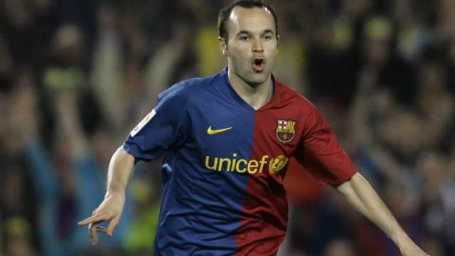 Iniesta führte den FC Barcelona zum Sieg