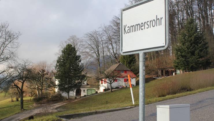 Ortsschild der Gemeinde Kammersrohr. Was steht da künftig?
