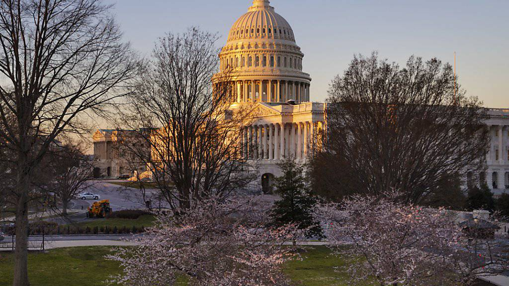 Zeigt sich widerspenstiger als erwartet gegenüber US-Präsident Donald Trump: das Capitol in Washington, das Parlamentsgebäude, wo die beiden Kammern Senat und Repräsentantenhaus arbeiten.