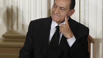 Ex-Präsident Husni Mubarak und seine Familie häuften ein riesiges Vermögen an (Archiv)