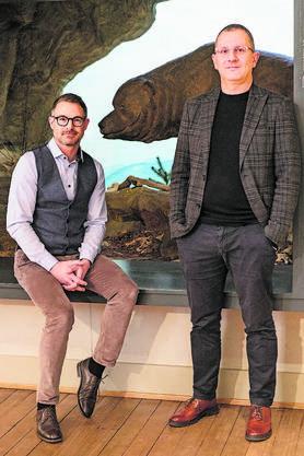 Die Co-Direktoren David Alder (l.) und Basil Thüring