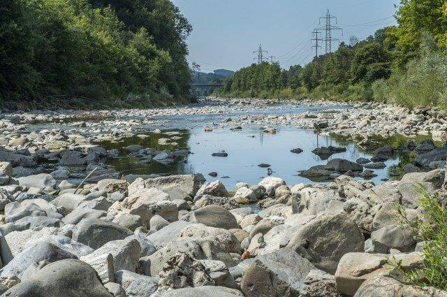 Viele Flüsse glichen im Sommer einem Rinnsal. (Bild: Tagblatt/Reto Martin)