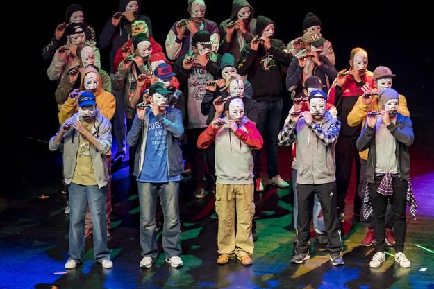 Premiere Drummeli 2019, Fototermin Hauptprobe: 13.15 Uhr, Musical Theater Basel. 2000, Schnurebegge & Fabe, Wo-Du-Was'99, Das neue Jahrtausend