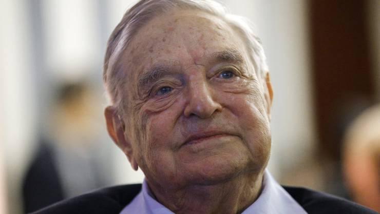 Im Fokus: George Soros.
