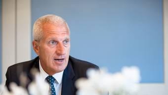 Suchte als Raiffeisen-CEO stets die grosse Bühne, nun sucht er den Ausgang durch die Hintertür: Pierin Vincenz.