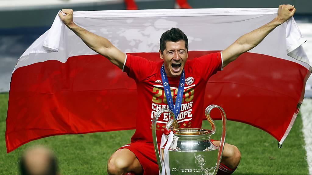 Lewandowski zum Fussballer des Jahres gewählt